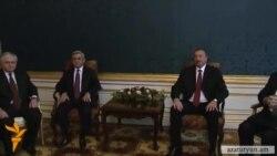 Հայաստանի և Ադրբեջանի նախագահների հանդիպումը Փարիզում
