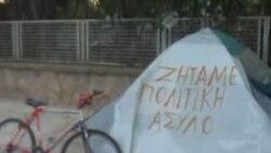روزهای آغازین تحصن پناهحویان ایرانی در آتن