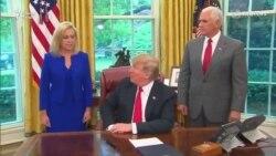 Дастури нави Трамп -- фарзанди муҳоҷирон аз волидонашон ҷудо карда намешаванд