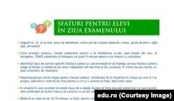 Ghidul MEN pentru Evaluarea Națională 2021 prevede și sfaturi pentru elevi