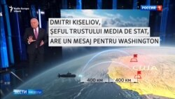 """""""Asta vă doriți?"""" - Amenințările bombastice ale Rusiei la TV"""