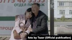 """Темир Бирназаровдун """"Табылга"""" тасмасындагы кадр."""