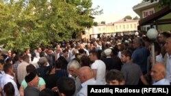 Kəmaləddin Heydərovla görüşə 5 min adam yazılıb- [Fotolar]