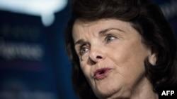 Глава комитета сената США по разведывательной деятельности Диана Файнштайн.
