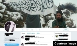 A pro-Taliban account on Twitter