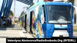 Брз трамвај во Киев