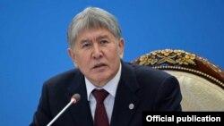 Алмазбек Атамбаев, архивное фото.