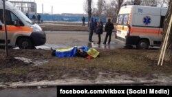На місці вибуху у Харкові, 22 лютого
