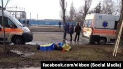 Під час мирної акції у Харкові стався вибух, 22 лютого, 2015