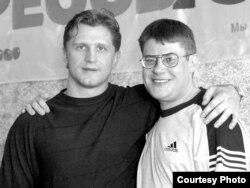 Руслан Салей і Сяргей Аляхновіч, Менск 2004 год