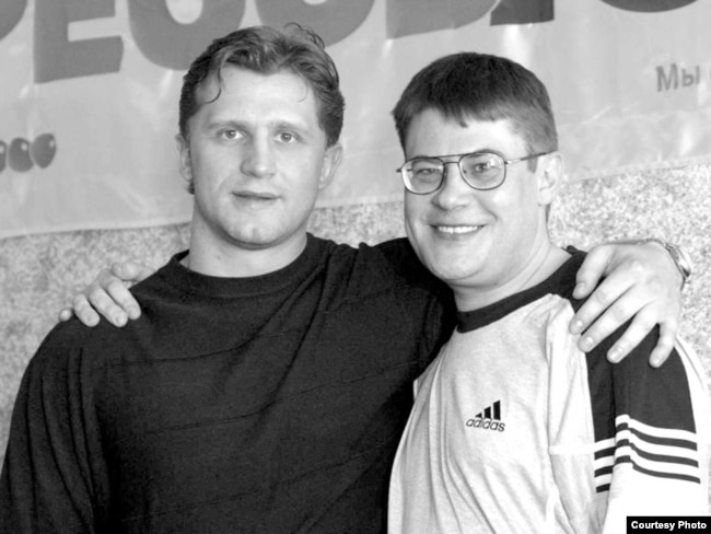 Руслан Салей і Сяргей Аляхновіч, 2004 год