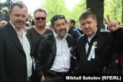"""Сергей Мохнаткин на """"Прогулке писателей"""" в мае 2012 года"""