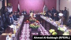 اجتماع ممثلي محافظة القادسية في مجلس النواب وأعضاء مجلس المحافظة