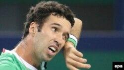 Қазақстан теннис құрамасының мүшесі Михаил Кукушкин.