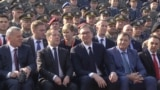 grab Russia's Medvedev Attends Military Parade In Belgrade