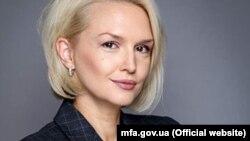 Катерина Зеленко, речниця МЗС України