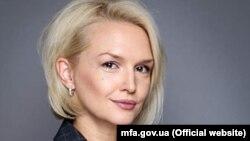 Пресс-секретарь МИД Украины Екатерина Зеленко