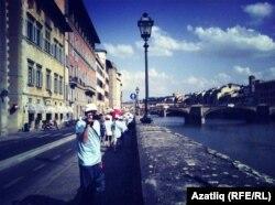 Италиядә сәяхәт вакытында