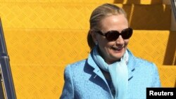Sekretarja amerikane e shtetit Hillary Clinton