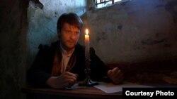 Кадар з фільму «Кастусь Каліноўскі. Апошнія дні». У галоўнай ролі — Раман Падаляка