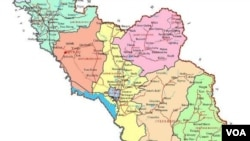 Naxçıvan xəritəsi