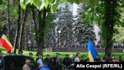 Protestat e sotme në Moldavi, 24 prill 2016