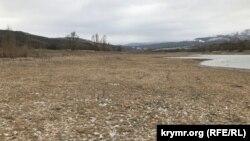 Білогірське водосховище, 11 березня 2021 року