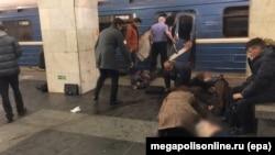 Терактв метро Петербурга, 3 апреля 2017 года.