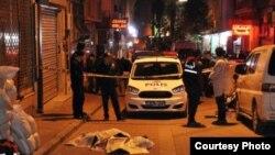 Улица в Стамбуле, где был убит Кувватов