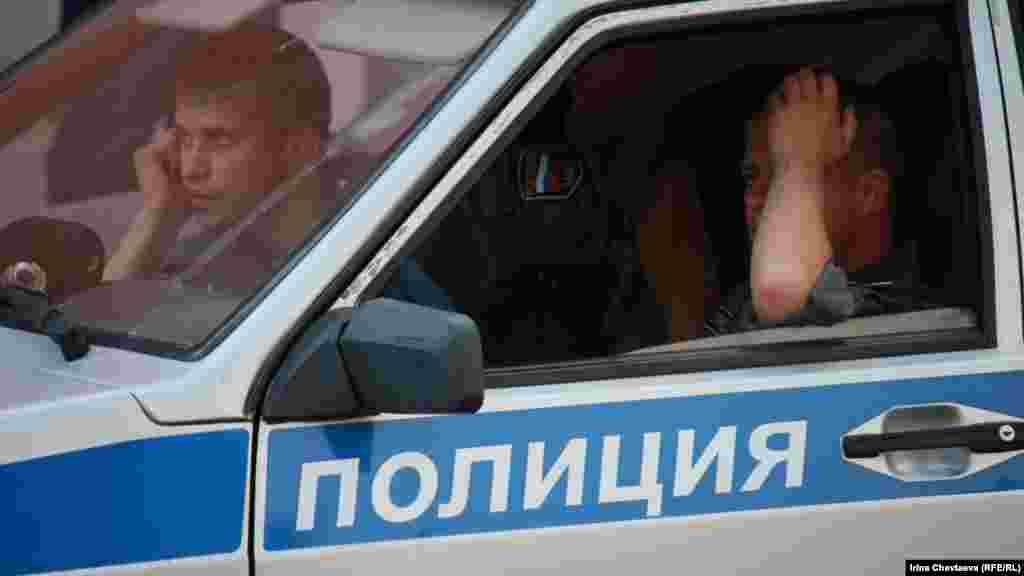 Поліцейські нікого не затримували
