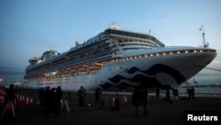 4 лютого на круїзному лайнеріDiamond Princess оголосили двотижневий карантин