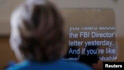 Кандидат у президенти США від демократів Гілларі Клінтон говорить про розслідування ФБР щодо її електронної пошти під час мітингу в штаті Флорида, 29 жовтня 2016