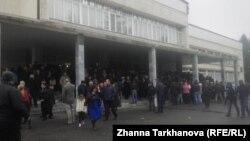 На избирательном участке в Пригородном районе Северной Осетии