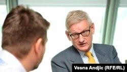 Ognjen Zorić i Carl Bildt