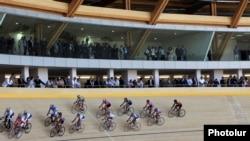 Новый велотрек в Ереване, 15 сентября 2011 г.