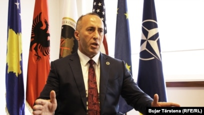 Ramush Haradinaj will now likely receive a formal mandate from the president to try to form a government. (file photo)