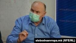 Раководителот на Единицата за јавно здравје во Дебар, епидемиолог Ментор Мела