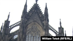 Кёльнский собор (фрагмент фасада).
