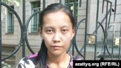 Назерке Маханбетова, Абай атындағы ҚазҰПУ студенті. Алматы, 1 шілде 2012 жыл.