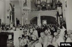 Українська греко-католицька церква в Перемишлі у час комуністичних гонінь, 1971 рік (фото з архіву Варшавського монастиря отців-василіян)