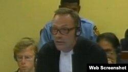 Эксперт ООН по правам человека и контртеррористической деятельности Бен Эммерсон.