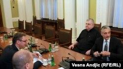 Čedomir Jovanović i Nenad Čanak na konsultacijama