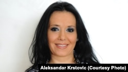 Serbia--Brankica Stankovic, host of popular B92 investigative television program Insider.