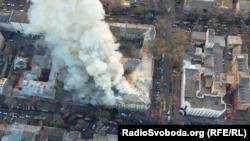 Пожежа в одеському коледжі забрала життя 12 людей