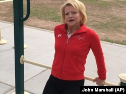 Olga Korbut in Scottsdale, Arizona, in 2017, the year she sold her Olympic medals for $330,000