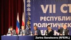 Тайным голосованием «единоосы» утвердили и партийный список, и кандидатов-одномандатников
