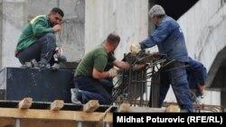 Građevinski radnici bili su među najtraženijim zanimanjima u BiH u 2018. godini