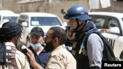 گروه ۱۳ نفره بازرسان ملل متحد روز شنبه دمشق را ترک کردند