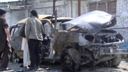 Taliban Claims Car-Bomb Attack In Kabul