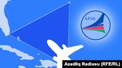 AZAL-ın Bermud uçbucağına ucuzlaşmış reysi [karikatura]
